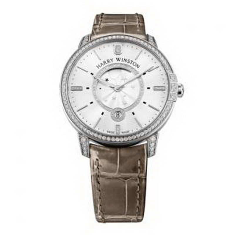 Midnight Moon Phase 39 mm MIDQMP39WW002 (White Gold)