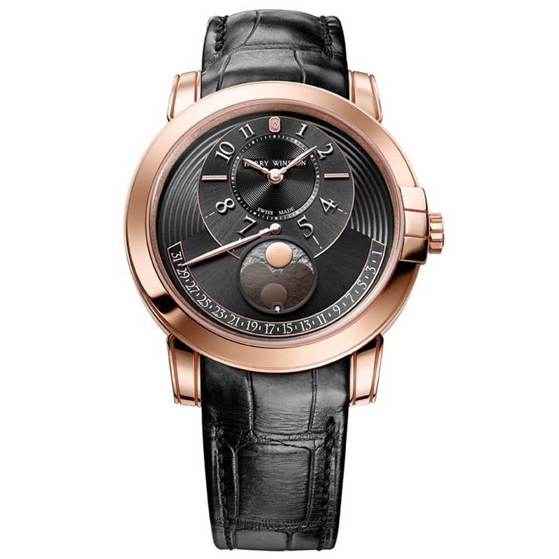 Midnight Moon Phase Automatic 42 mm MIDAMP42RR002 (Rose Gold)