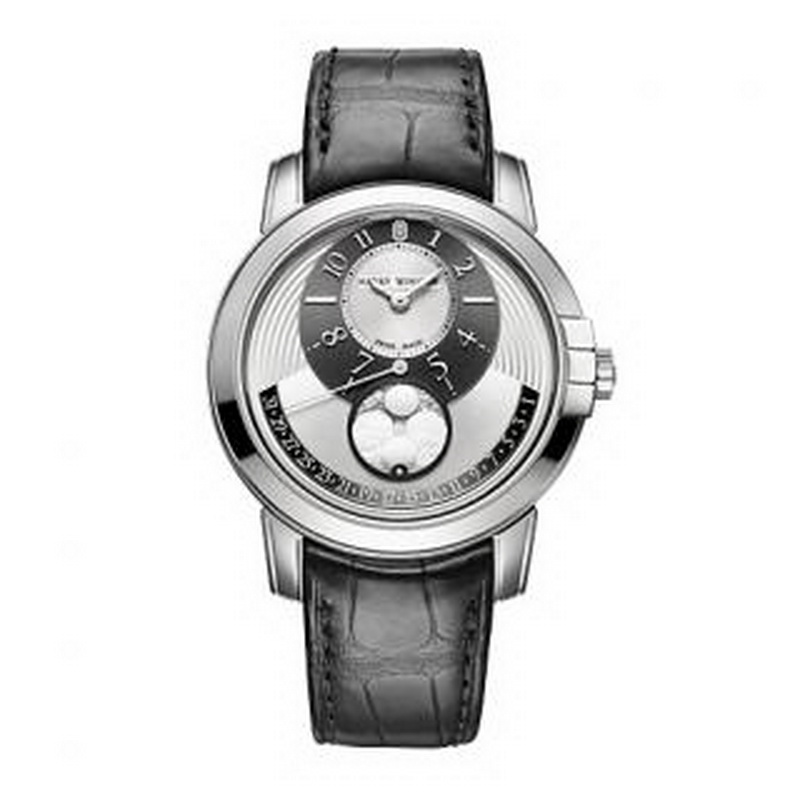 Midnight Moon Phase Automatic 42 mm MIDAMP42WW001 (White Gold)