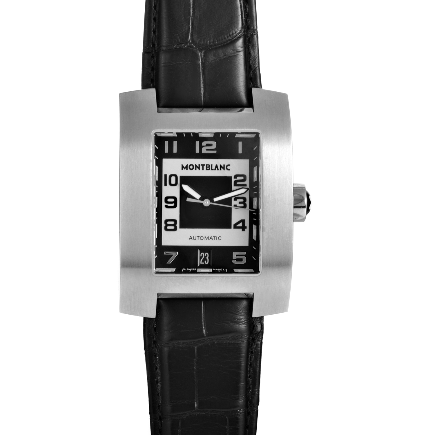 Gents Stainless Steel Automatic Watch 7058