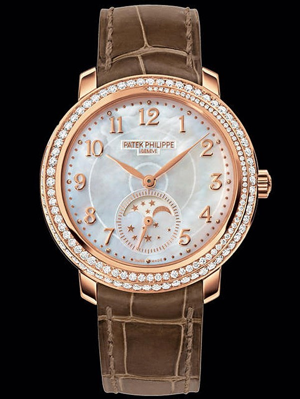 Moon Phases Ladies Rose Gold 4968R-001