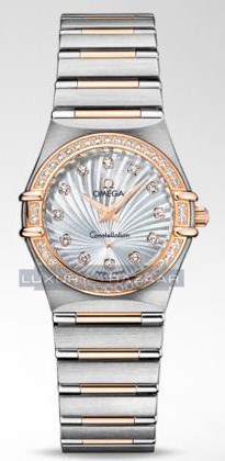 Constellation 160 Years with Diamonds (SS-RG / White-Mother-of-Pearl / Bracelet)