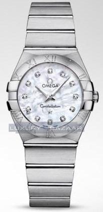 Constellation Brushed Quartz with Diamonds 123.10.27.60.55.001