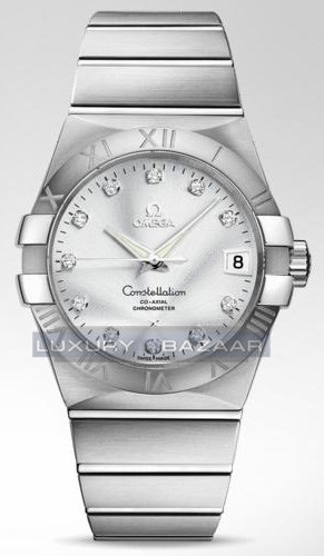 Constellation Brushed Chronometer 123.10.38.21.52.001