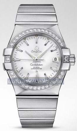 Constellation Chronometer with Diamonds 123.15.35.20.02.001