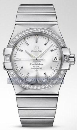 Constellation Chronometer with Diamonds 123.15.35.20.02.001