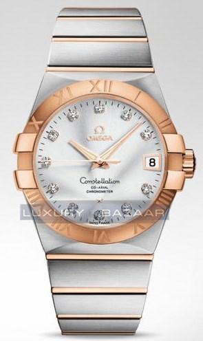 Constellation Chronometer with Diamonds 123.20.38.21.52.001