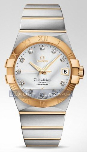 Constellation Co-Axial 38mm 123.20.38.21.52.002