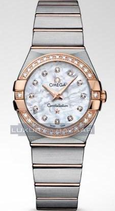 Constellation Brushed Quartz with Diamonds 123.25.27.60.55.001