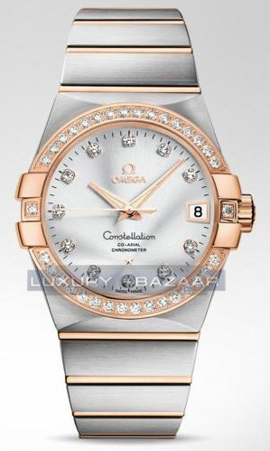 Constellation Chronometer with Diamonds 123.25.38.21.52.001