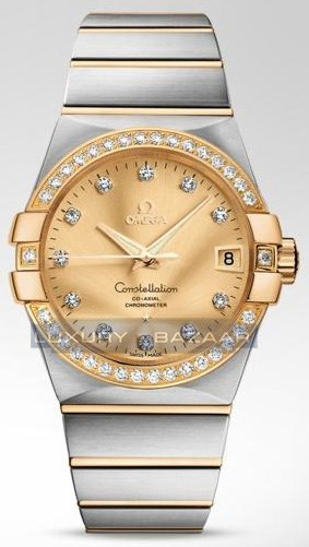 Constellation Chronometer with Diamonds 123.25.38.21.58.001