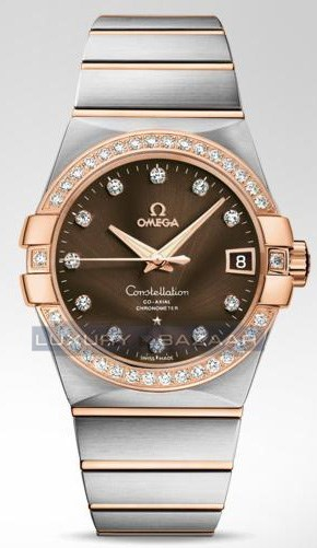 Constellation Co-Axial 38mm 123.25.38.21.63.001