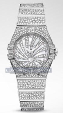 Constellation Quartz 24mm Luxury Edition 123.55.24.60.55.010