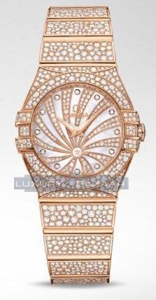 Constellation Quartz 27mm Luxury Edition 123.55.27.60.55.009