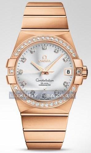 Constellation Chronometer with Diamonds 123.55.38.21.52.001