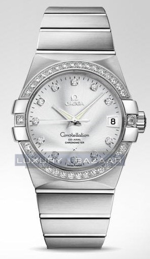 Constellation Chronometer with Diamonds 123.55.38.21.52.003