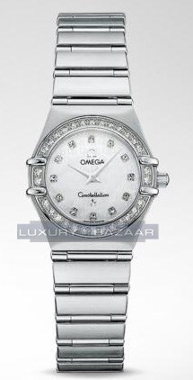 Constellation 95 with Diamonds (SS / White-Mother-of-Pearl / Bracelet)