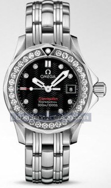 Seamaster 300 m Quartz with Diamonds 212.15.28.61.51.001