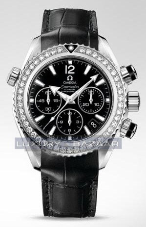 Planet Ocean Chronograph with Diamonds 222.18.38.50.01.001