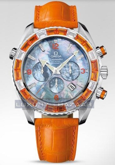 Seamaster Specialities Jewellery Chronograph with Diamonds 222.28.46.50.57.002