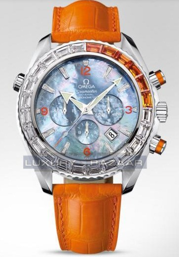 Seamaster Specialities Jewellery Chronograph with Diamonds 222.28.46.50.57.003