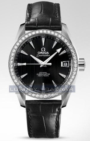 Seamaster Aqua Terra Mid Size Chronometer with Diamonds 231.15.39.21.51.001