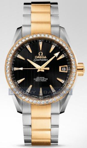 Seamaster Aqua Terra Mid Size Chronometer with Diamonds 231.25.39.21.51.002