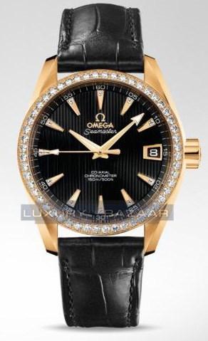 Seamaster Aqua Terra Mid Size Chronometer with Diamonds 231.58.39.21.51.002