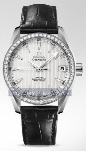 Seamaster Aqua Terra Mid Size Chronometer with Diamonds 231.58.39.21.52.001