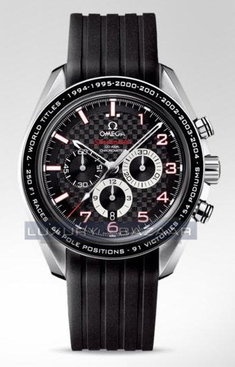 Speedmaster Legend (SS / Black / Bracelet)