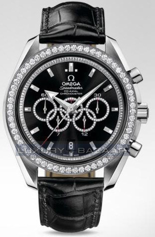 Speedmaster Specialities Olympic Collection Timeless with Diamonds 321.58.44.52.51.001