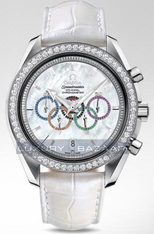 Speedmaster Specialities Olympic Collection Timeless with Diamonds 321.58.44.52.55.001