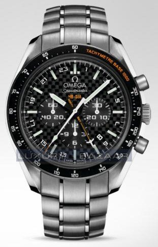 Speedmaster Specialities HB-SIA Co-Axial GMT Chronograph 321.90.44.52.01.001