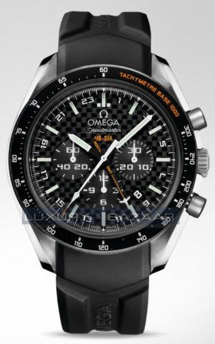 Speedmaster Specialities HB-SIA Co-Axial GMT Chronograph 321.92.44.52.01.001