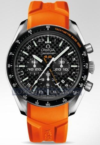 Speedmaster Specialities HB-SIA Co-Axial GMT Chronograph 321.92.44.52.01.003