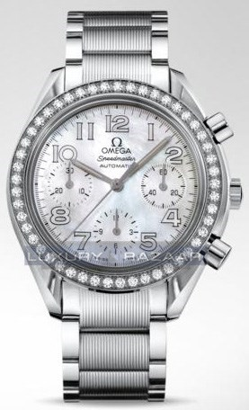 Speedmaster Automatic Chronograph with Diamonds 3535.7