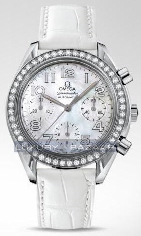 Speedmaster Automatic Chronograph with Diamonds 3835.70.36