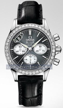 Deville Co-Axial Chronograph with Diamonds 422.18.35.50.06.001