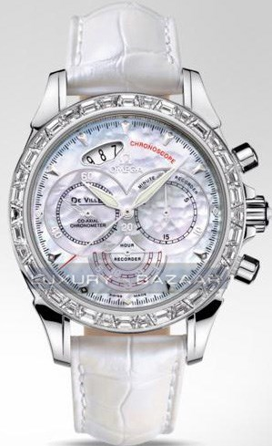 Deville Co-Axial Chronoscope with Diamonds 422.98.41.50.05.001
