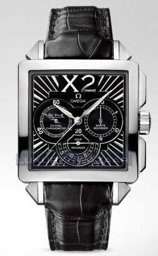Deville X2 Co-Axial Chronograph 423.13.37.50.01.001