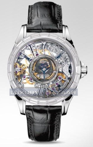 Deville Specialities Skeleton Tourbillon with Diamonds 5946.30.31