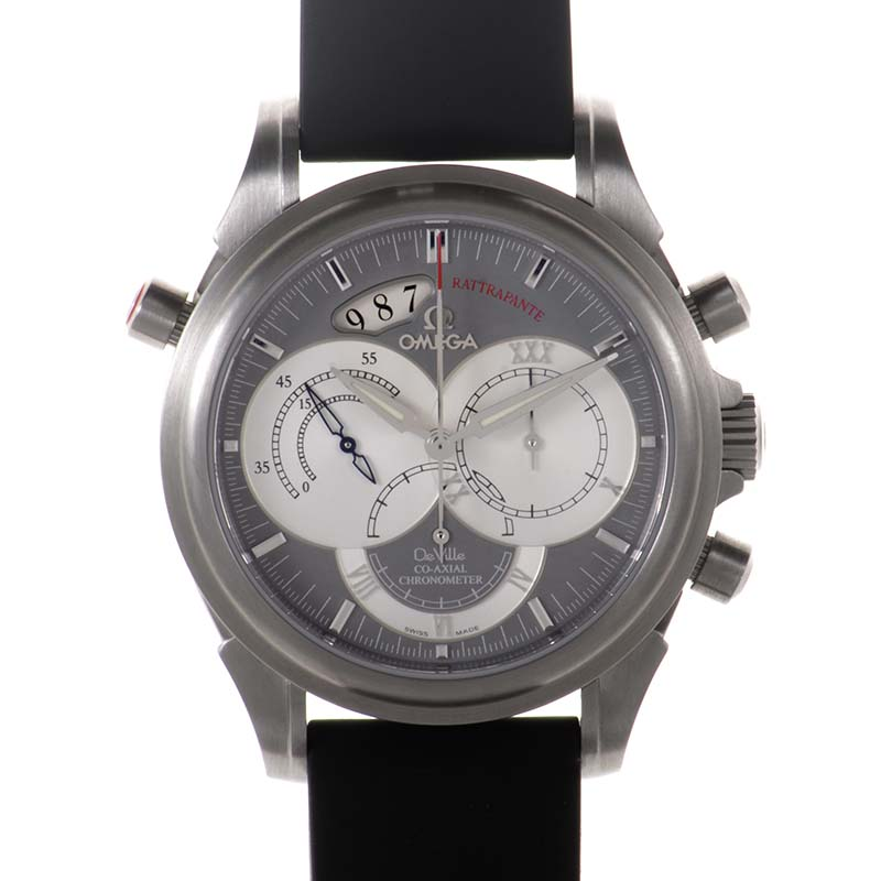 DeVille Chronoscope Co-Axial Rattrapante 4848.40.31