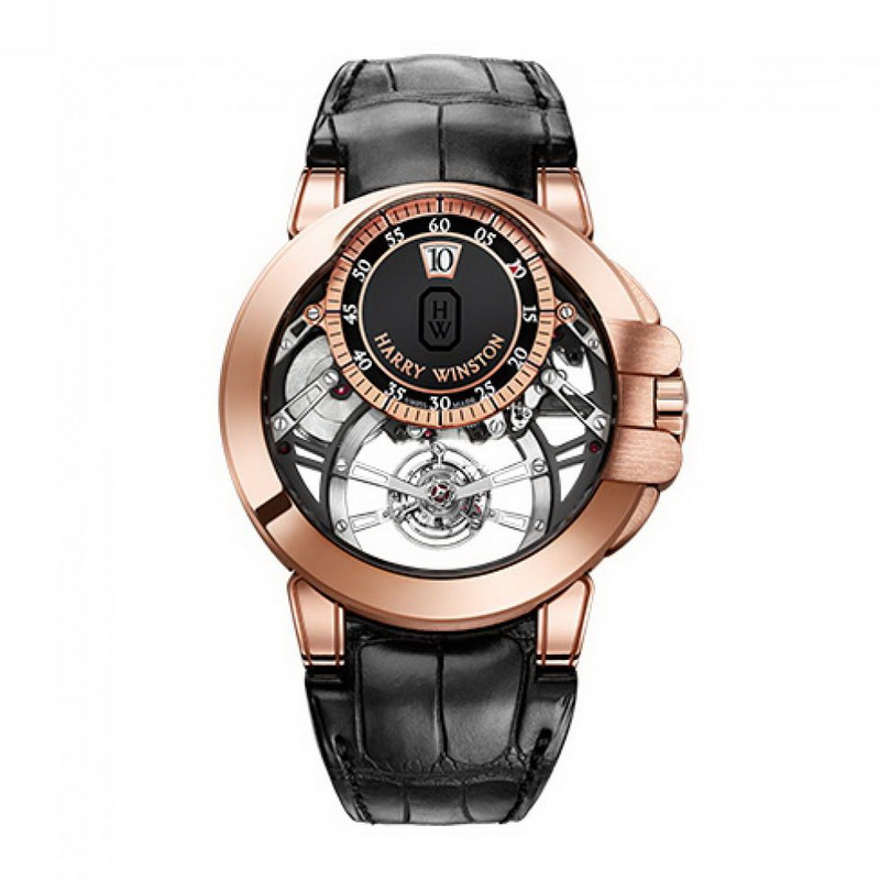 Ocean Tourbillon Jumping Hour OCEMTJ45RR001 (Rose Gold)