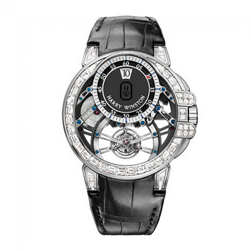 Ocean Tourbillon Jumping Hour OCEMTJ45WW002 (White Gold)