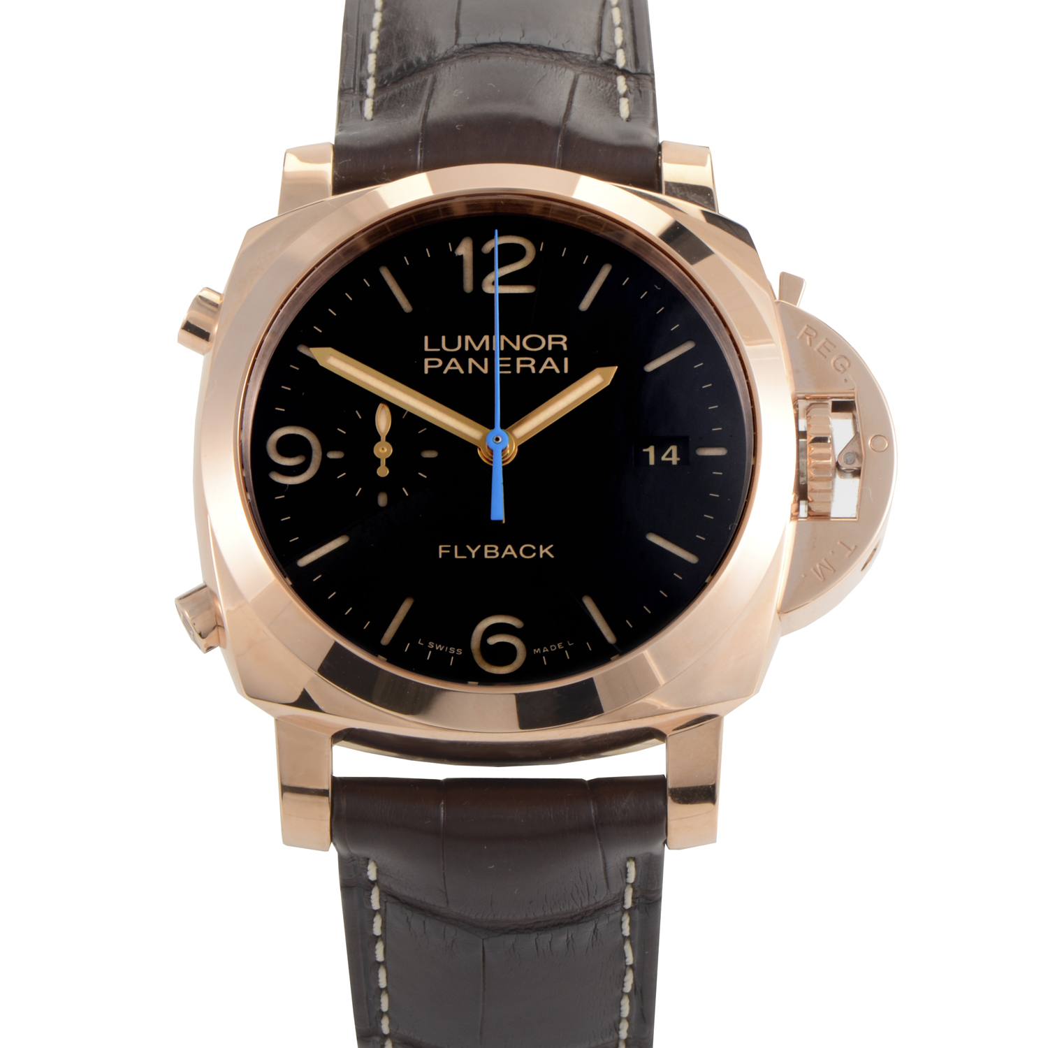 Luminor 1950 3 Days Chrono Flyback Automatic Oro Rosso PAM00525