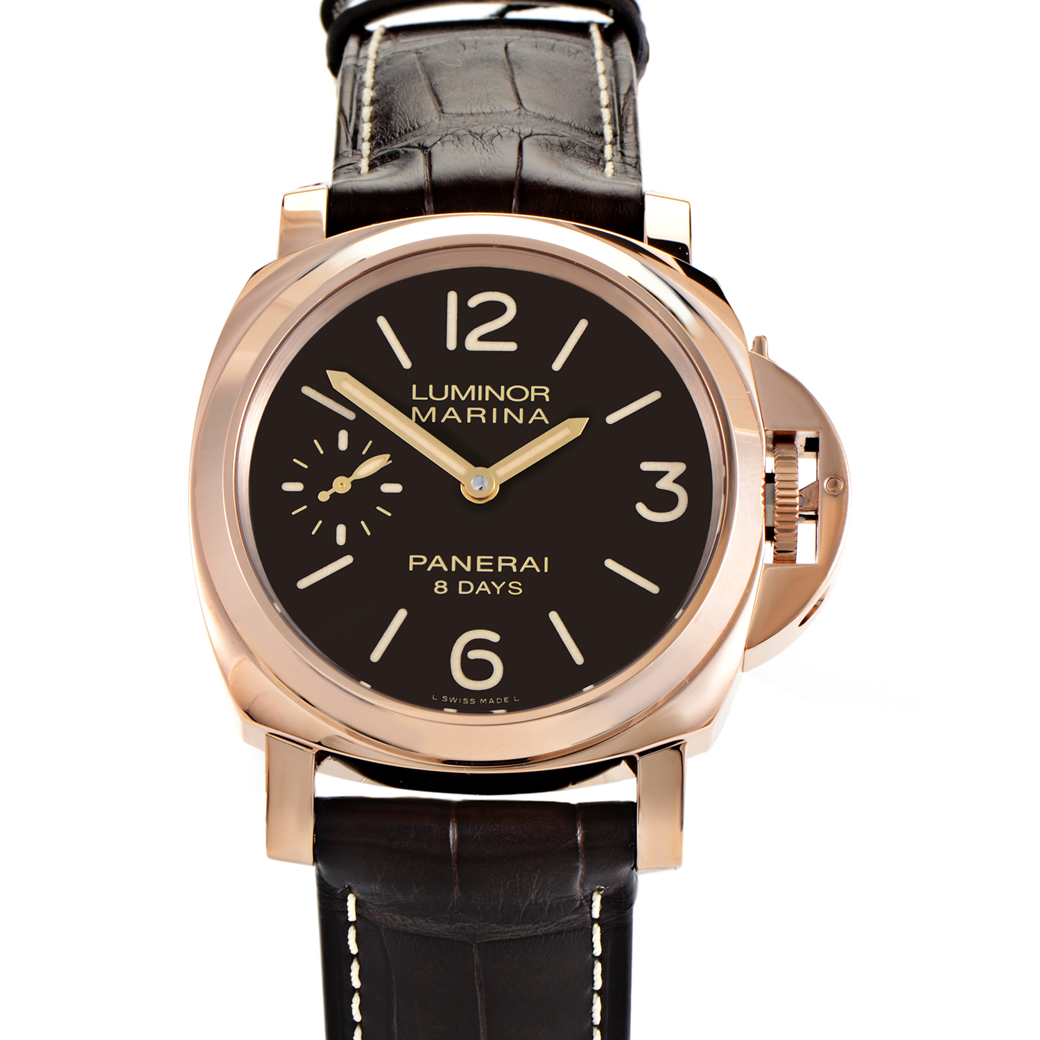 Luminor Marina 8 Days Oro Rosso Men's Watch PAM00511