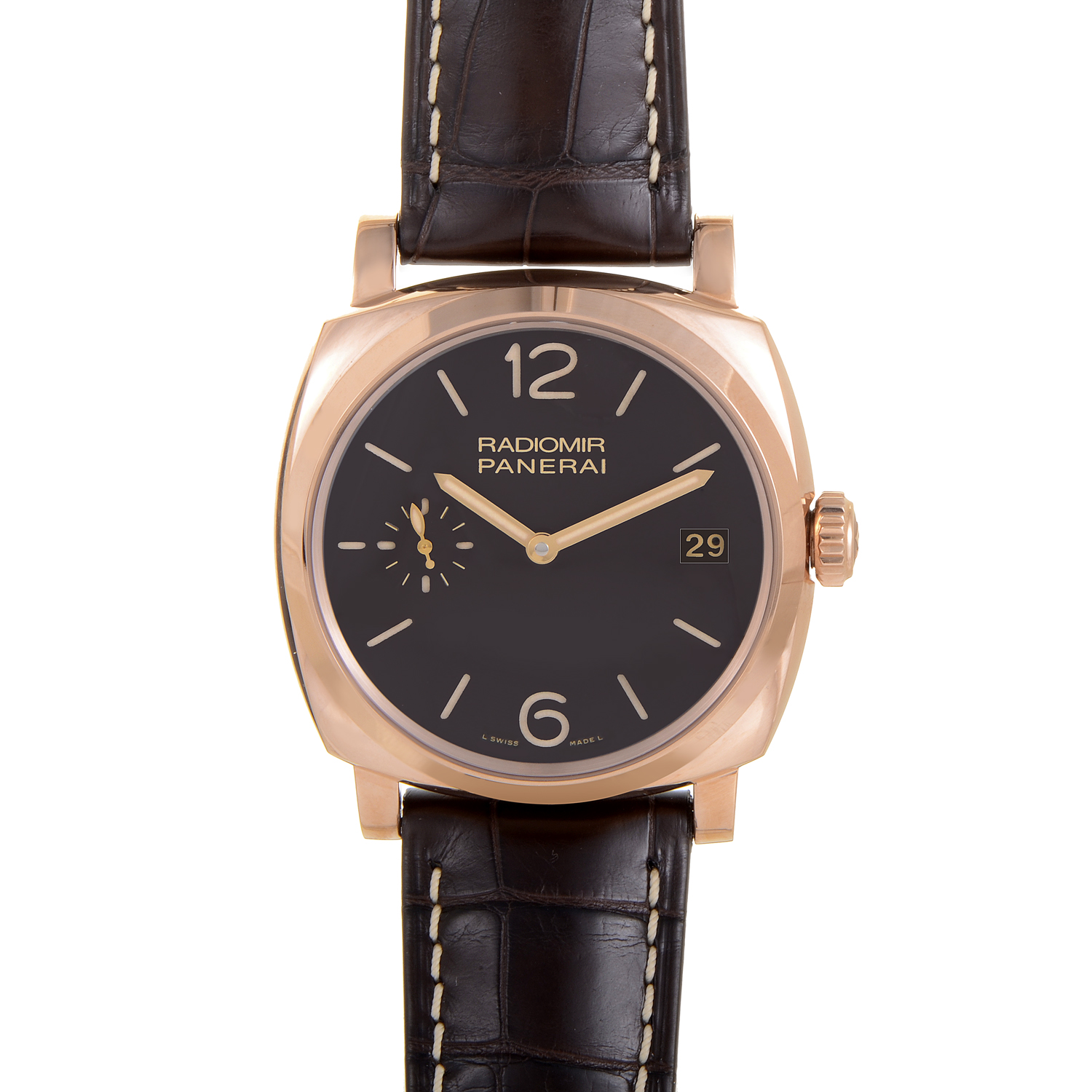 Radiomir 1940 3 Days Oro Rosso Men's Watch PAM00515
