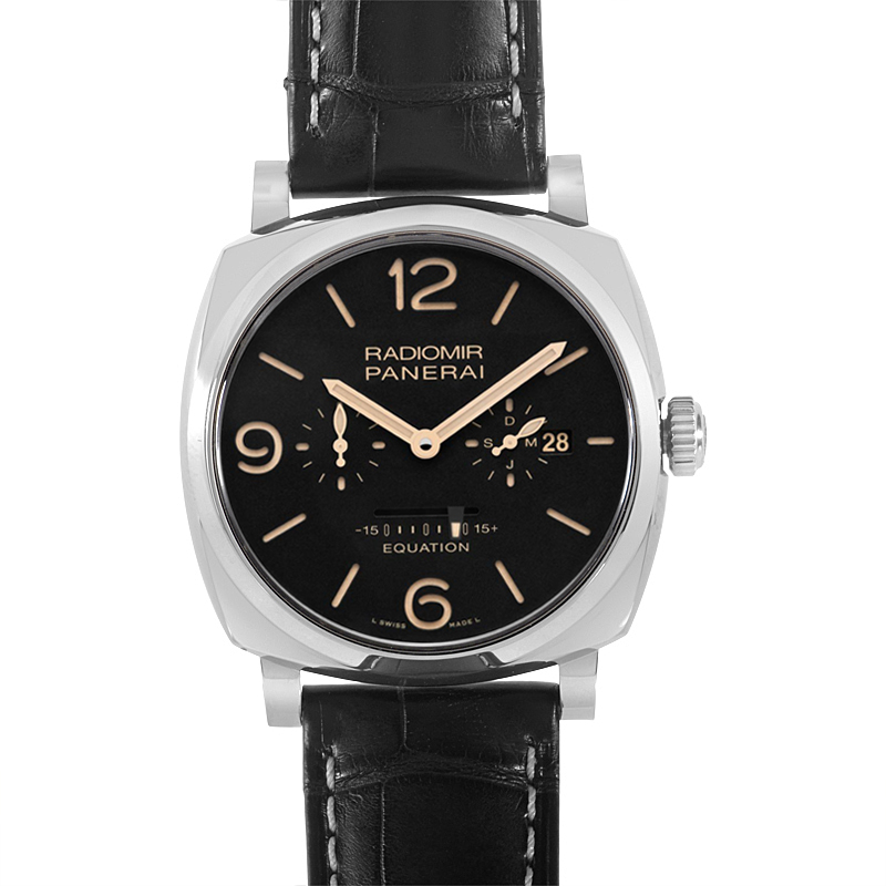 Radiomir 1940 Equation of Time 8 Days Accaio  PAM00516