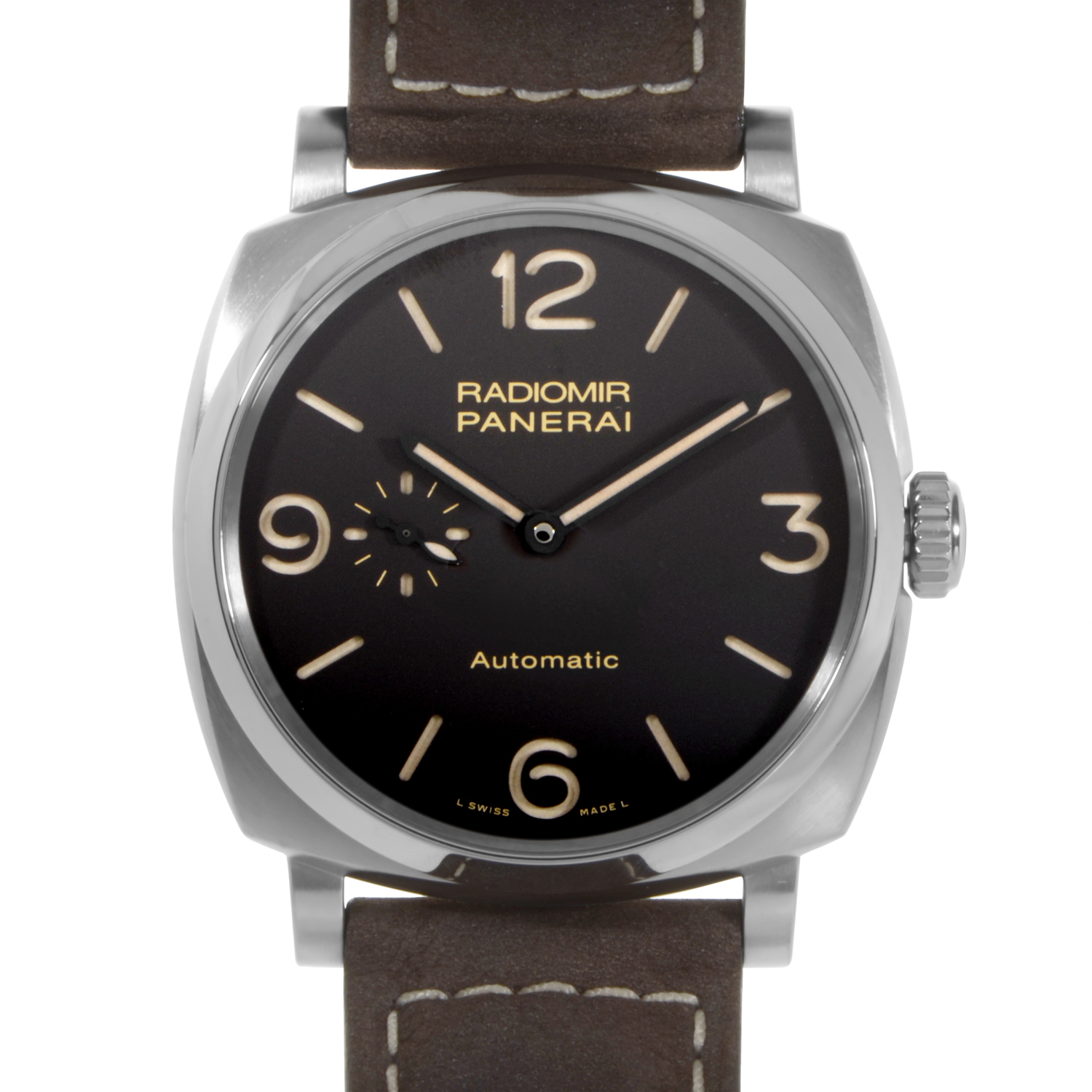 Officine Panerai 1940 3 Days Automatic Titanio PAM00619 ...