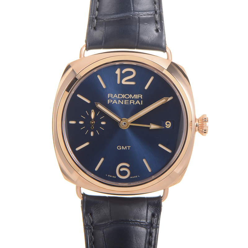 RADIOMIR 3 DAYS GMT ORO ROSSO PAM00598